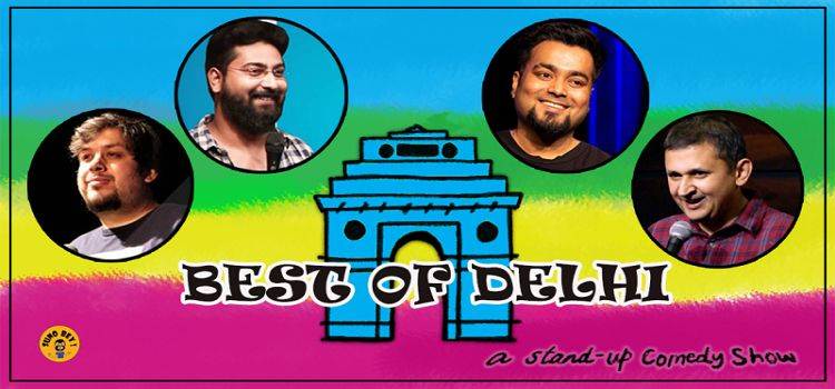 Best of Delhi: An Online Stand-Up Comedy Event