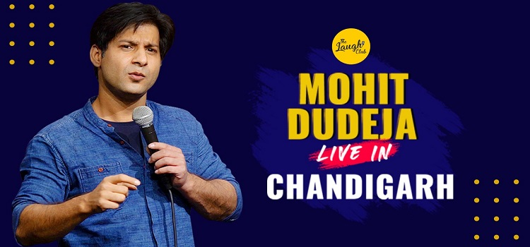 Live Stand-Up Solo by Mohit Dudeja
