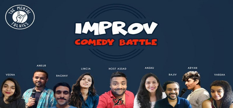 The Mental Talkies presents Online Comedy Battle