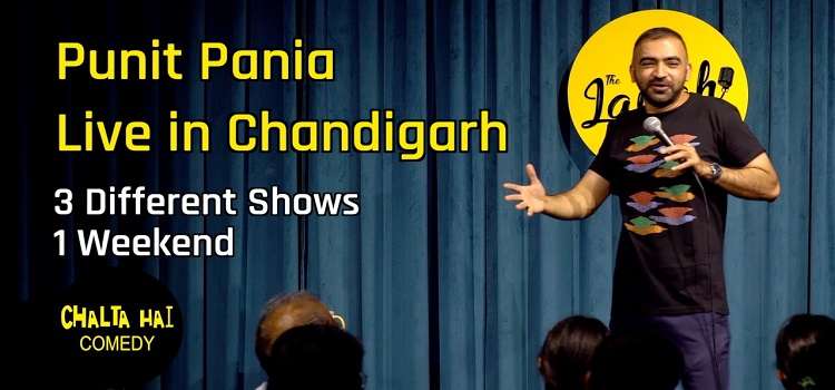 Live Comedy Event by Punit Pania in Chandigarh
