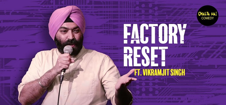 Factory Reset: An Online Comedy Event