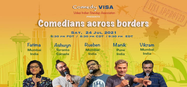 An Online Comedy Event By Comedy VISA