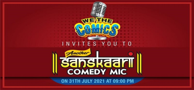 'We The Comics' presents An Online Comedy Event