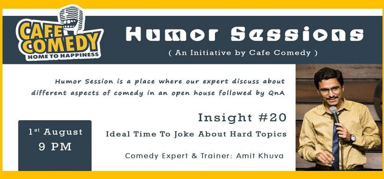 An Online Comedy Event Ft. Amit Khuva