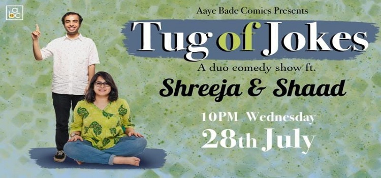 An Online Duo Comedy Event