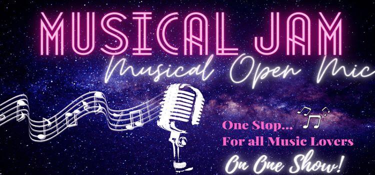 An Online Musical Open Mic Event