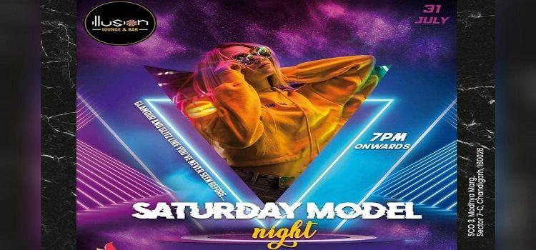 Saturday Model Night At Illusion Lounge & Bar Chandigarh
