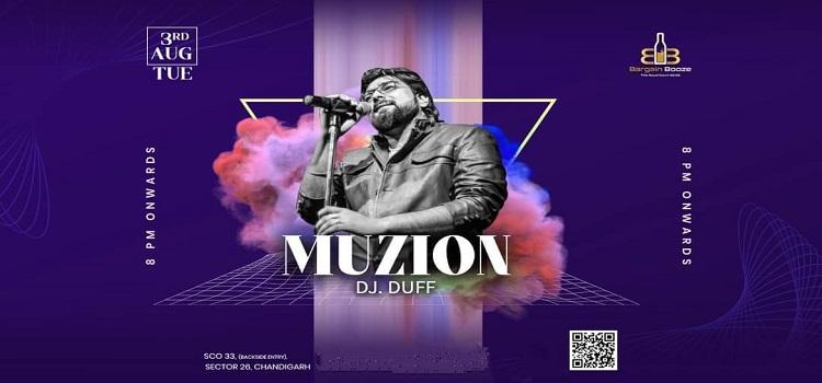 Live Music By Muzion At Bargain Booze Chanidgarh