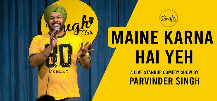 Live Comedy By Parvinder Singh At The Laugh Club