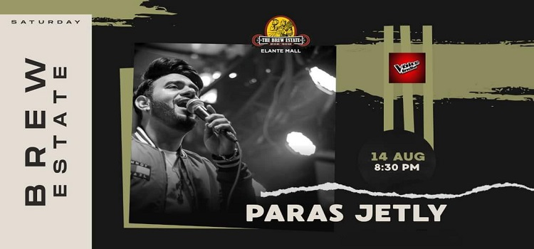 Live Music By Paras Jetly At The Brew Estate
