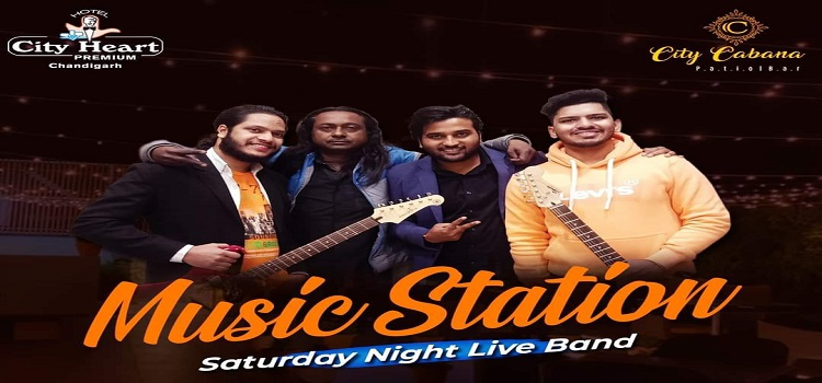 Music Station Band Performing Live At Hotel City Heart