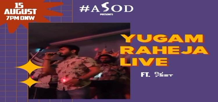 Yugam Raheja Performing Live At ASOD Chandigarh