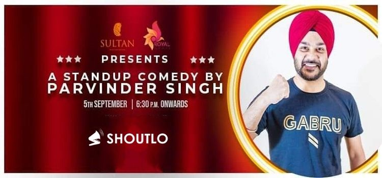 Live Comedy Event By Parvinder Singh At Sultan Chandigarh