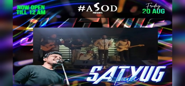 Live Music By Satyug Band At ASOD Chandigarh