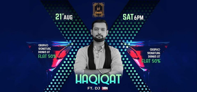 Live Music By Haqiqat Band At Grapho 07 Chandigarh