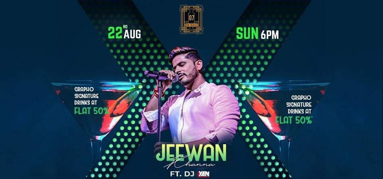 Live Music By Jeewan Khanna At Grapho 07 Chandigarh