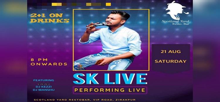 SK Performing Live At Scotland Yard Zirakpur