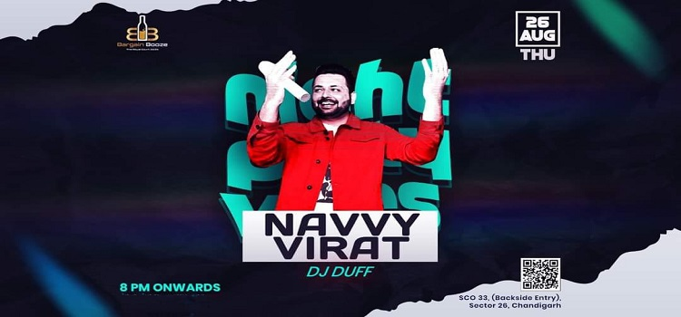 Live Music By Navvy Virat At Bargain Booze Chandigarh