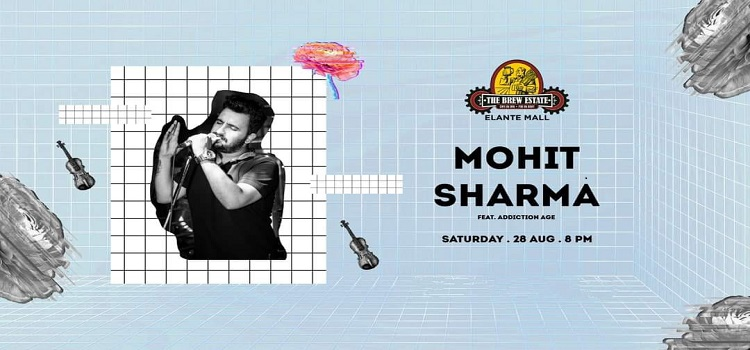 Live Music By Mohit Sharma At The Brew Estate Chandigarh