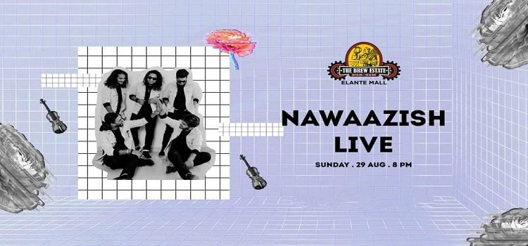 Live Music By Nawaazish Band At The Brew Estate Elante Mall