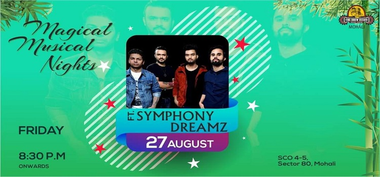 Symphony Dreamz Performing Live At the Brew Estate Mohali