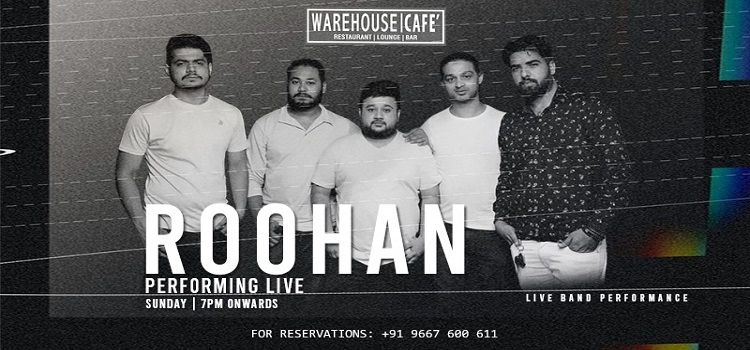 Roohan Performing Live At Warehouse Cafe Mohali