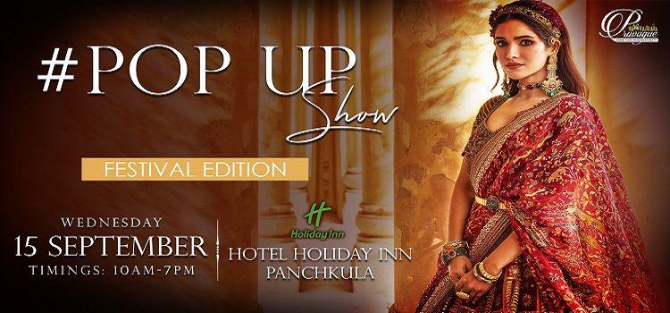 #POP UP Show At Hotel Holiday Inn Panchkula