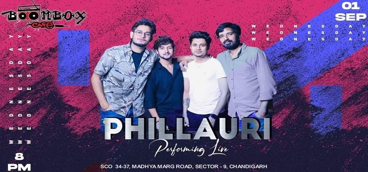 Live Music By Phillauri Band At BoomBox Cafe Chandigarh