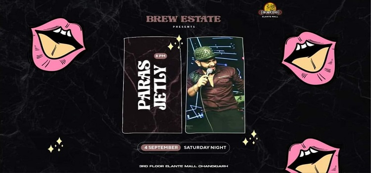 Paras Jetly Performing Live At The Brew Estate