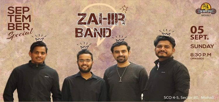 Zahir Band Performing Live At The Brew Estate Mohali
