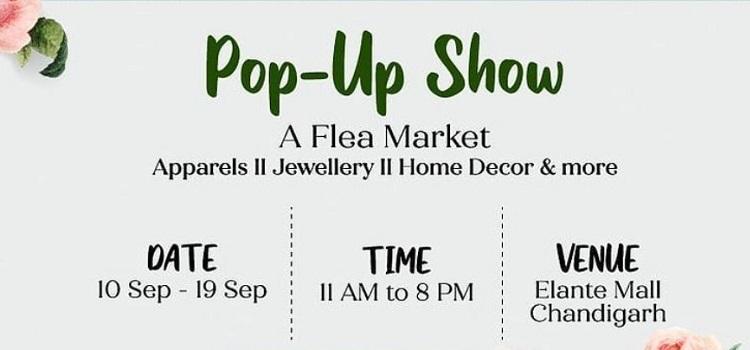 Pop Up Show - A Flea Market At Elante Mall