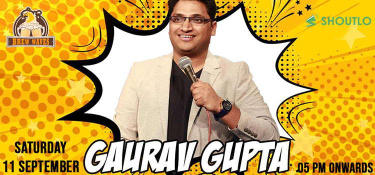 Gaurav Gupta Performing Live At Brew Waves