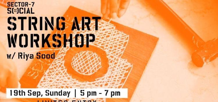 Join String Art Workshop With Riya Sood At Social