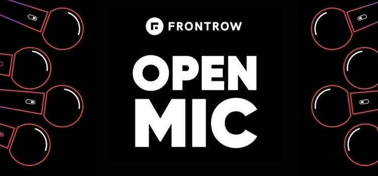 FrontRow Presents Open Mic Virtual Comedy Event