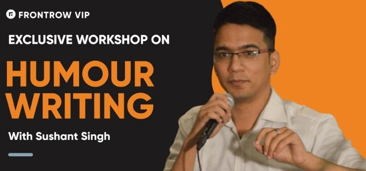 FrontRow Humour Writing Virtual Class With Sushant