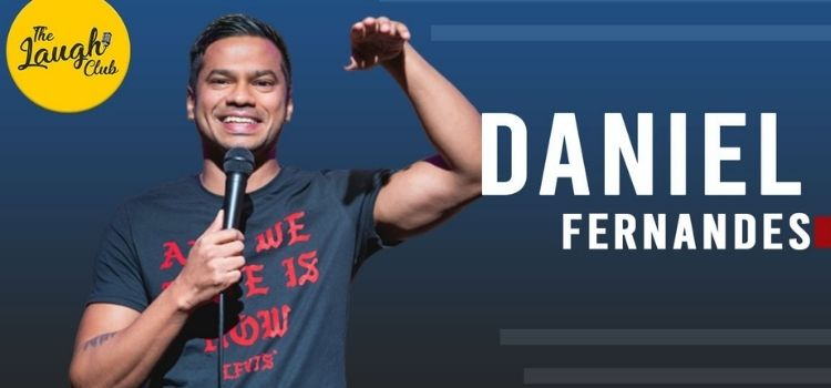 Daniel Fernandes Live At the laugh club Chandigarh