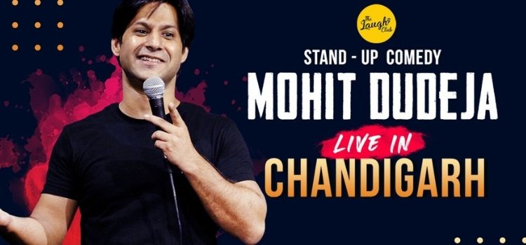 Mohit Dudeja Live Comedy At Laugh Club Chandigarh