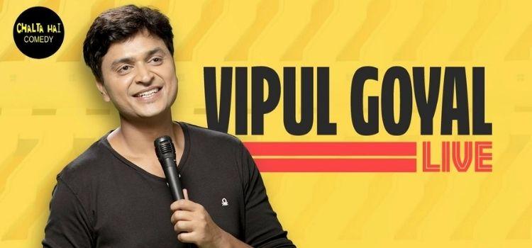 Vipul Goyal Virtual Live Comedy Show