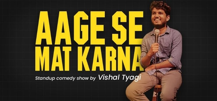Vishal Tyagi Live Comedy At Laugh Club chandigarh