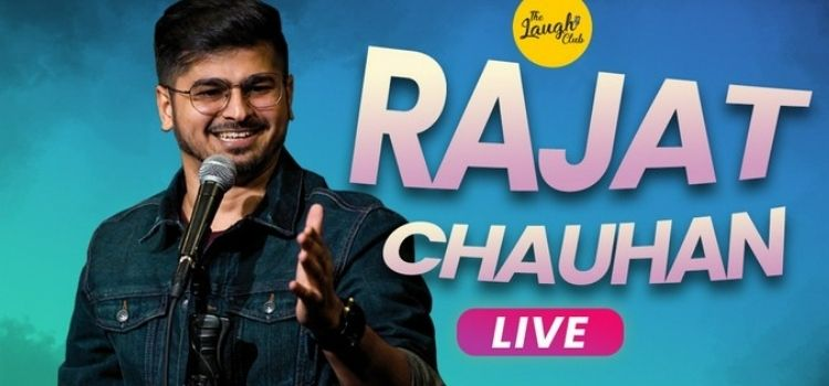 Rajat Chauhan Live Comedy At Laugh Club Chandigarh