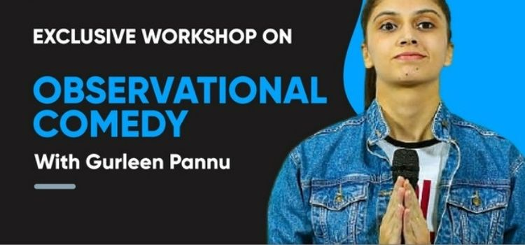 Virtual Comedy Workshop With Gurleen Pannu