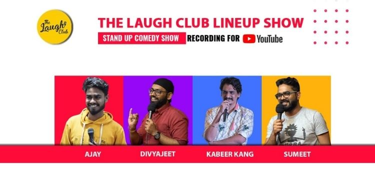 Line Up Comedy Show At Laugh Club Chandigarh