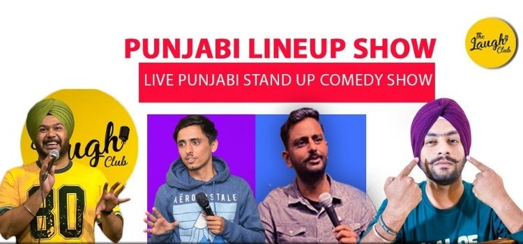 Punjabi Comedy Show At Laugh Club Chandigarh