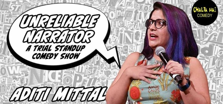 Virtual Trial Comedy Show By Aditi Mittal