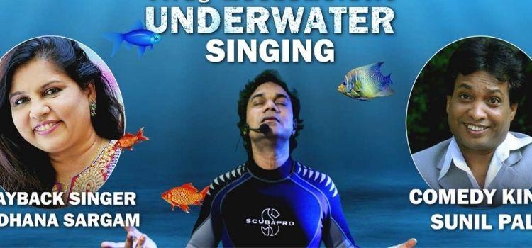 Underwater Virtual Live Singing Concert