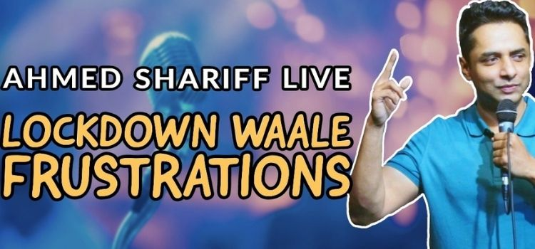Ahmed Shariff Live Comedy At Laugh Club Chandigarh