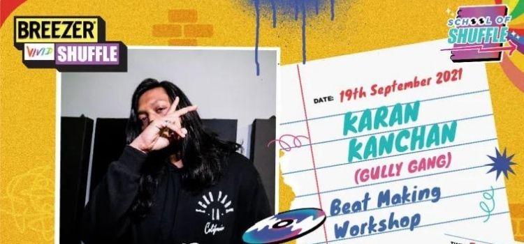 Beat Making Virtual Workshop With Karan