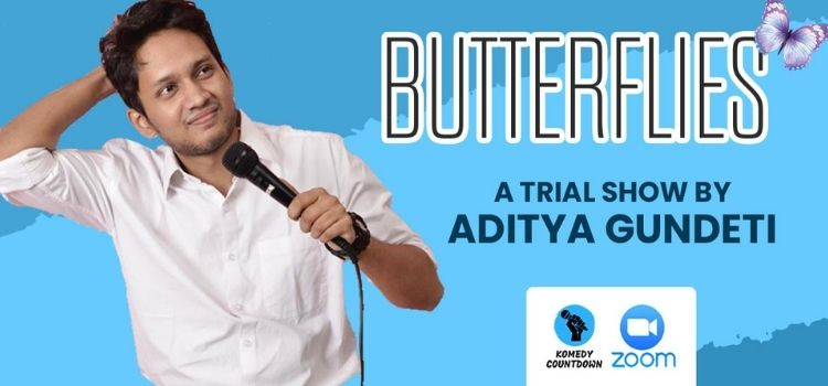 Virtual Comedy Trial Show by Aditya Gundeti by Online Events