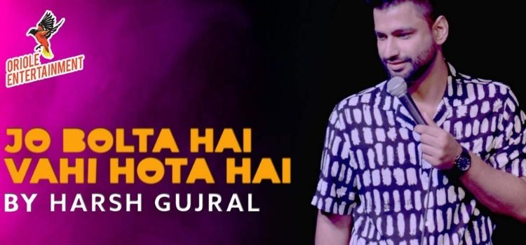 Live Comedy By Harsh Gujral At Jungle Bar