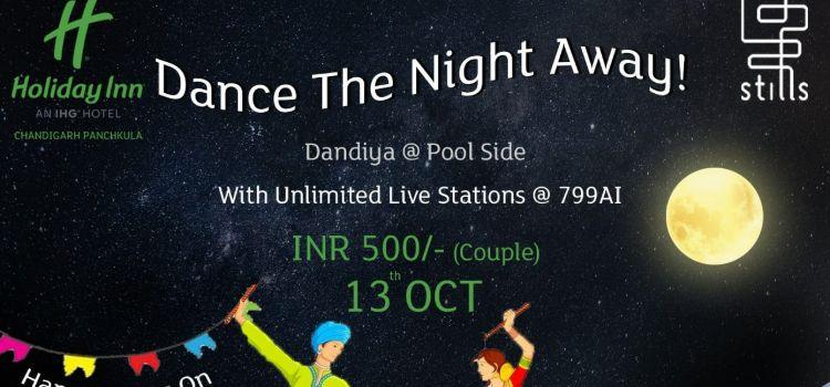 Dandia Night At Pool Side At Holiday Inn Panchkula